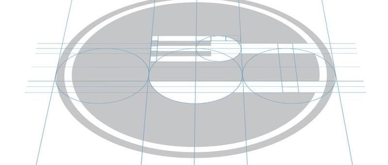 Geometrische Schönheit in der Logoentwicklung