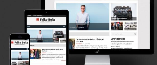 Website von Falko Beitz