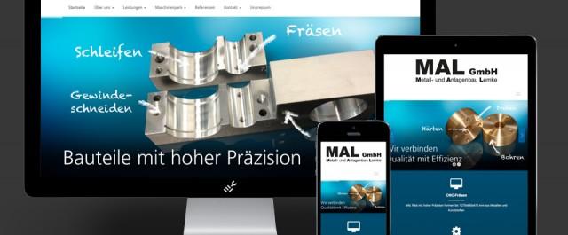 Website von Lemke Metallbau