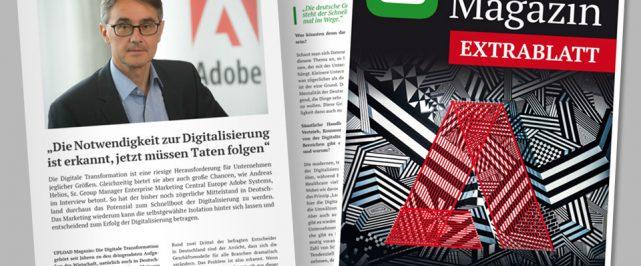 UPLOAD Magazin Extrablatt zum ADOBE Symposium