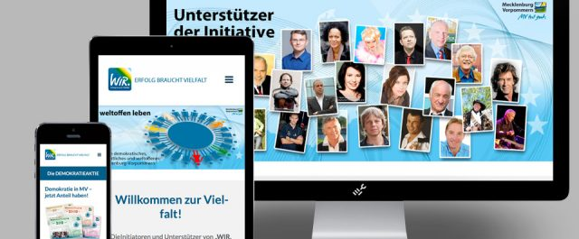 Website der WIR-Initiative