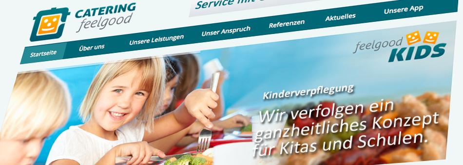 Website Catering feelgood