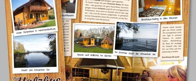 Dat Holzhus am Schweriner See