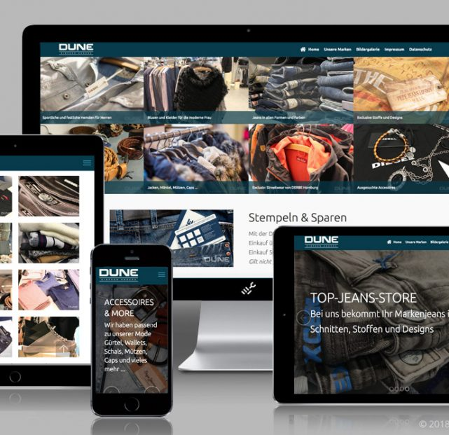DUNE Website Relaunch